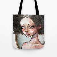 Sweet Ebony Tote Bag