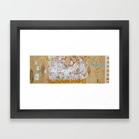 I snow Framed Art Print