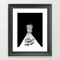 11 Locks Framed Art Print