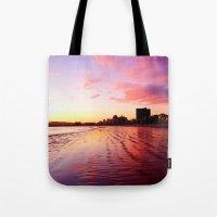 Sherbet Skies Tote Bag