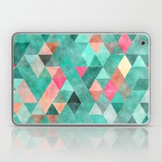 Retro Triangles Pattern 03 Laptop & iPad Skin