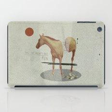 Take The Money and Run iPad Case