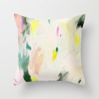 Abstract Love 1 Throw Pillow