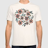 Blossom Mens Fitted Tee Natural SMALL