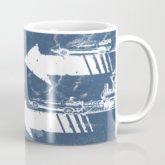 Back to the Future Minimalist Poster Mug