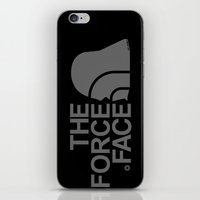 The Force Face (grey) iPhone & iPod Skin
