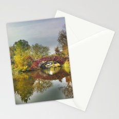 Fall at Central Park 2 Stationery Cards