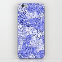 Blue sand iPhone & iPod Skin