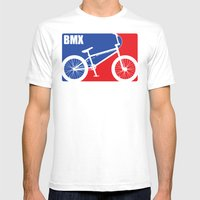 BMX Mens Fitted Tee White SMALL