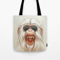 The Great White Angry Mo… Tote Bag
