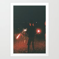 Youth in July Art Print