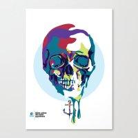 Mares Calmos Não Fazem … Canvas Print