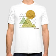 In Harmony White Mens Fitted Tee SMALL
