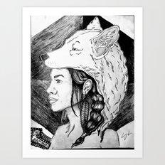 The Chamanas Art Print