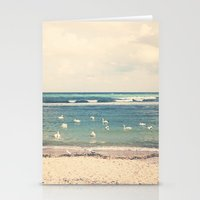 Swan Sea Stationery Cards