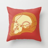 Shell Head Throw Pillow