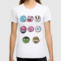 Madballs! Womens Fitted Tee Ash Grey SMALL