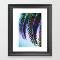 Western Sunset Framed Art Print