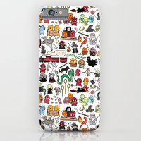 iPhone Cases featuring Kawaii Harry Potter Doodle by KiraKiraDoodles