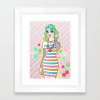 Just Can't Get Enough Framed Art Print