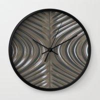 Line Wall Clock