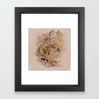 Path of Dragon Framed Art Print