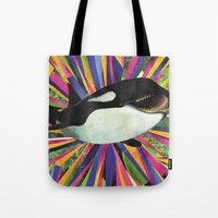 Happiest Whale Tote Bag
