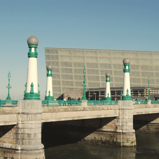 Kursaal Bridge Art Print