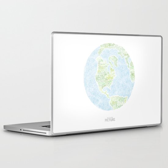 See the big picture Laptop & iPad Skin