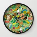 D Pattern  Wall Clock