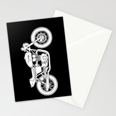 Triumph Bonneville - Cafe Racer series #3 Stationery Cards