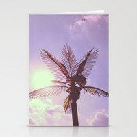 Palm Plane Stationery Cards