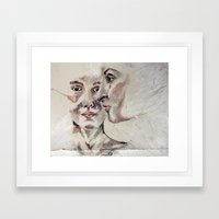 close-up Framed Art Print