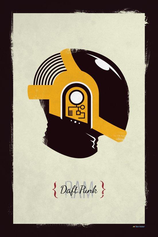 Daft Punk - RAM (Guy-Manuel) Art Print