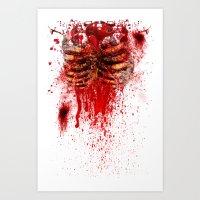 Zombie 2 Art Print