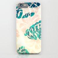 CALI TROPICAL LEAVES iPhone 6 Slim Case
