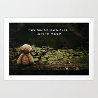 Paws For Thought Art Print
