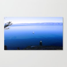Lonely Ship Canvas Print