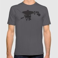 Voyager Mens Fitted Tee Asphalt SMALL