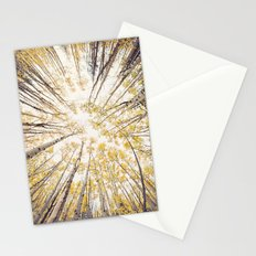 fall looking up Stationery Cards