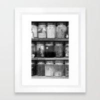 Little Worlds (Big) Framed Art Print