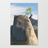 Half Dome Drop In Canvas Print