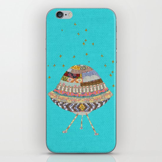 My Spaceship Will Come iPhone & iPod Skin