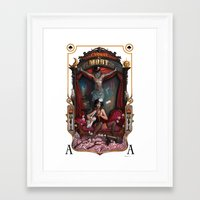 Cirque Du Mort Framed Art Print