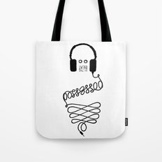 Possessed by the Beat Tote Bag
