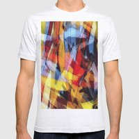 Abstrakt 53 Color Mens Fitted Tee Ash Grey SMALL