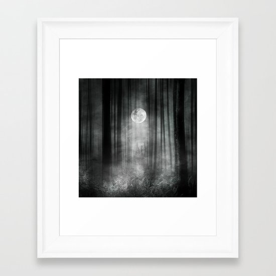 Dark Framed Art Print