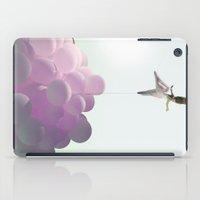 By A Thread_ Ballon Girl iPad Case