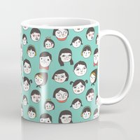 Pattern Project #1 / Faces Mug