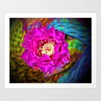 Wild Blossom Art Print